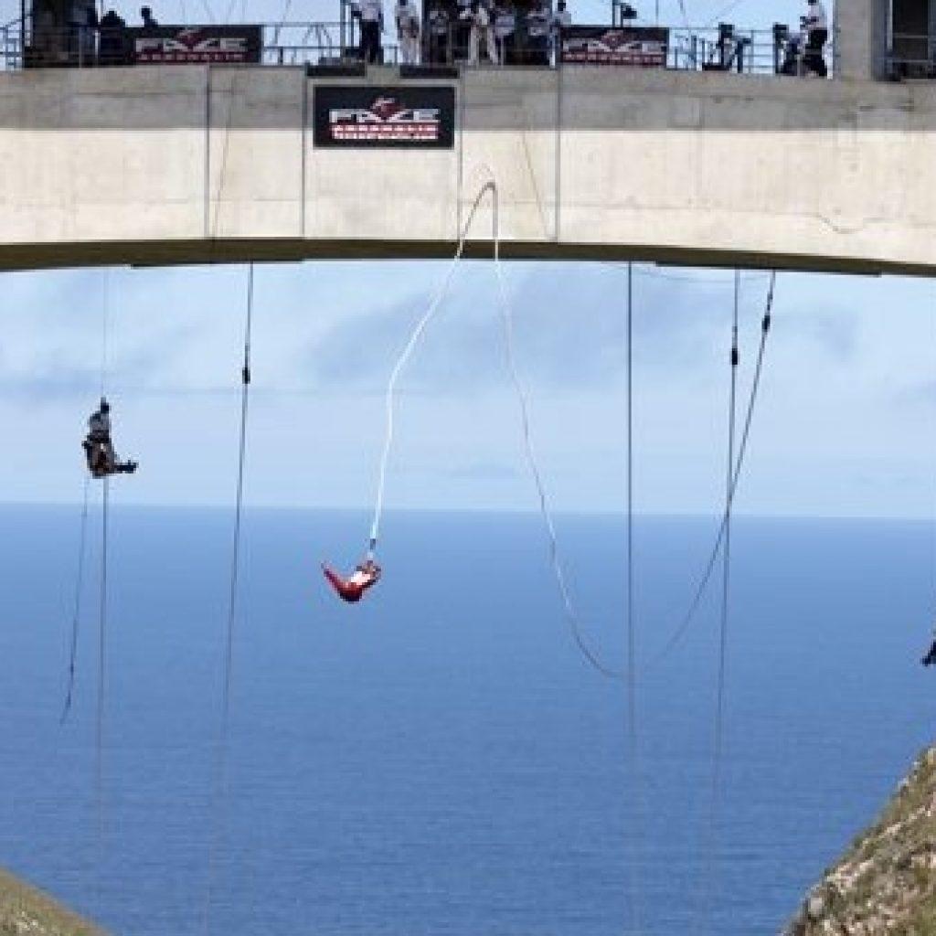 Worlds Highest Bungee Jump