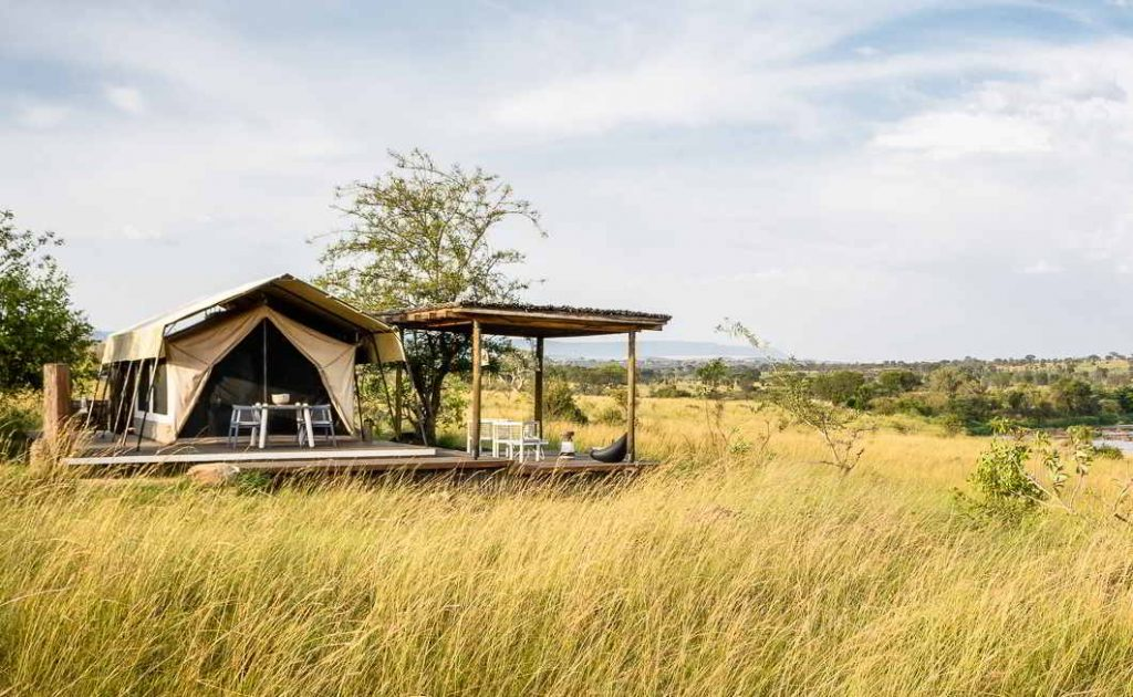 Fixed Tented Camps
